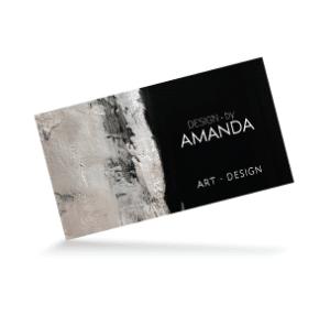 DesignBy Amanda Business Card