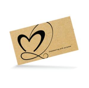 Laura Lotus Love Business Card