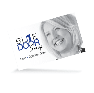 Blue Door Group Business Card