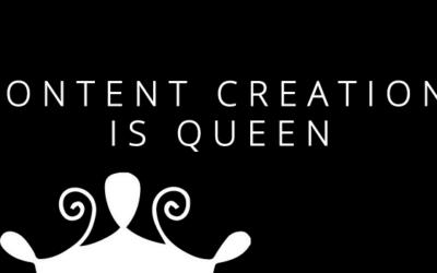 Content Creation is Queen