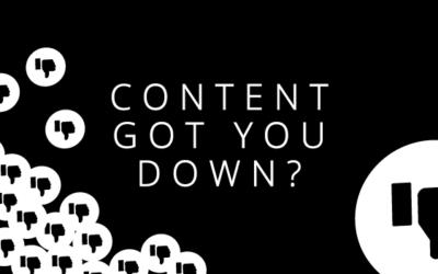 Social media content got you down?