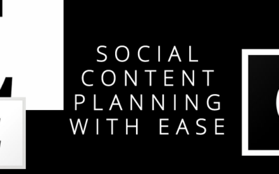 Social Content Planning