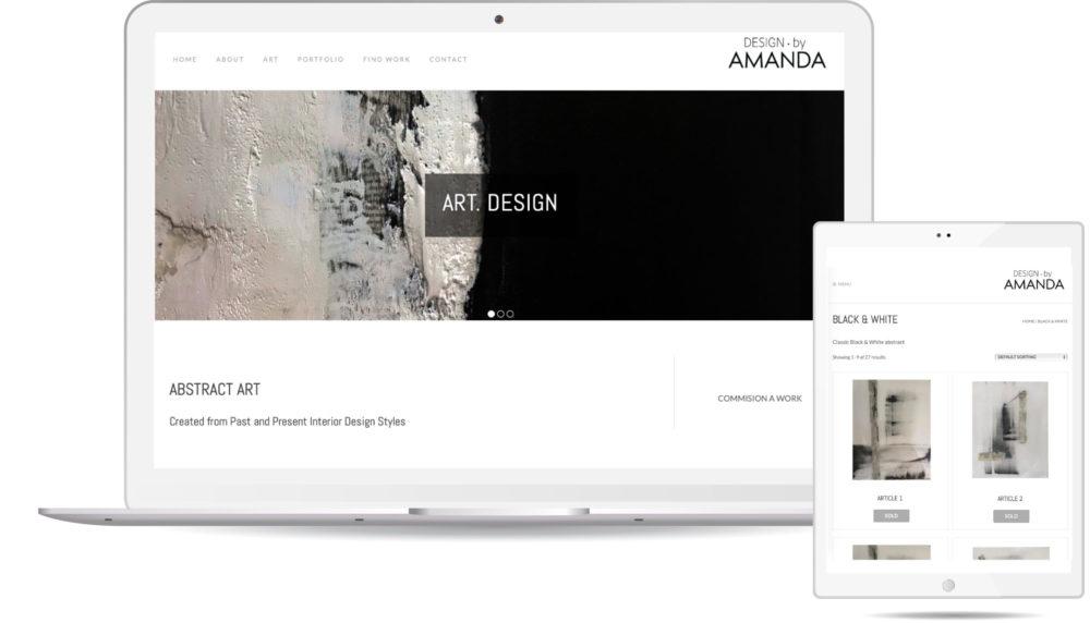 Design by Amanda Website